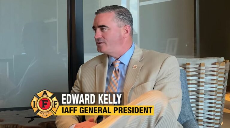 Interview with IAFF General President Edward Kelly