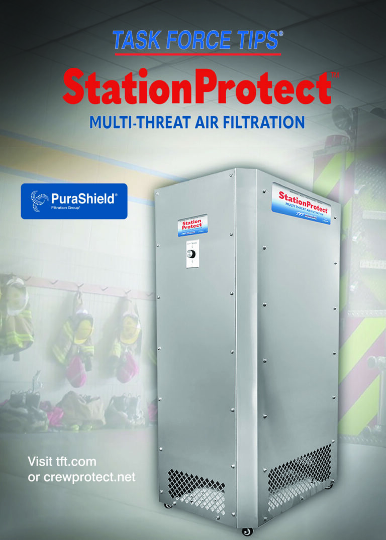 TFT Introduces Indoor Multi-Threat Air Filtration for Fire and EMS Stations