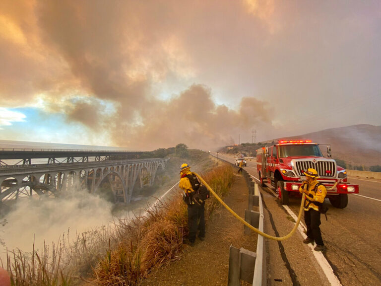 Alisal Fire Shuts CA Highway, Forces Evacuations