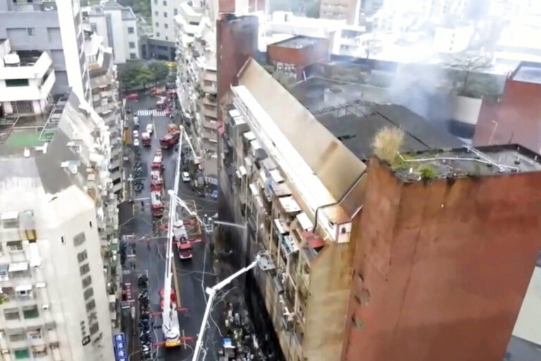 Officials Seek Cause of Taiwan Building Fire That Killed 46