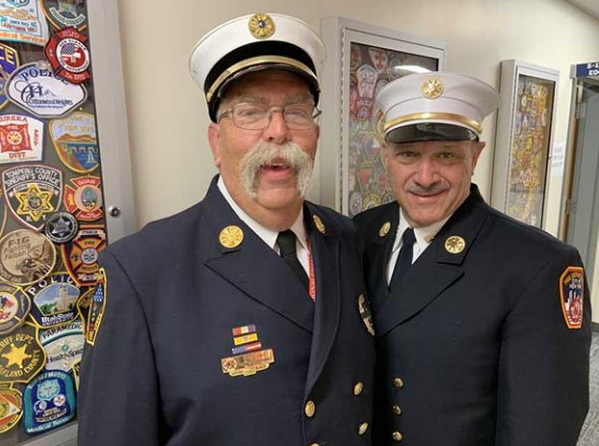 Tom Aurnhammer and Ron Kanterman