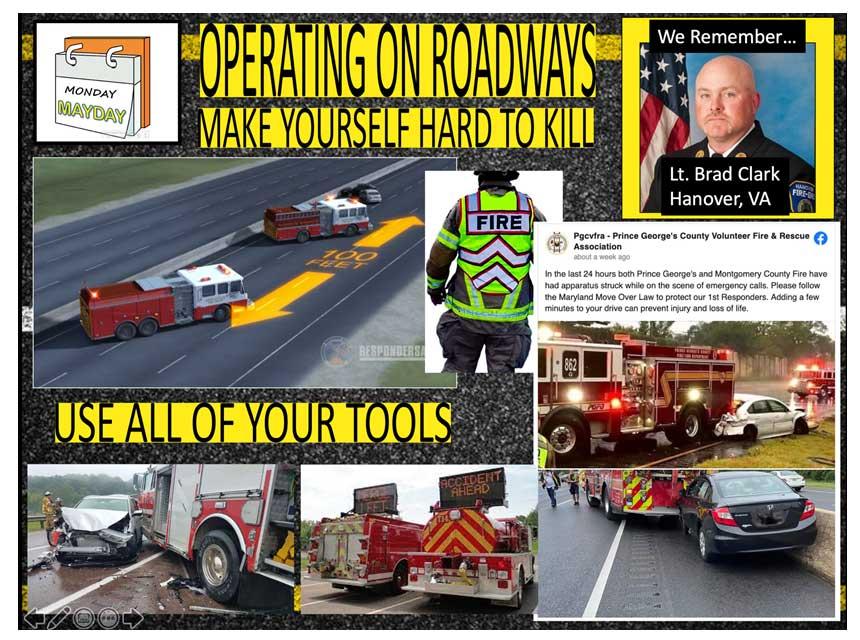 Lt. Brad Clark fallen firefighter