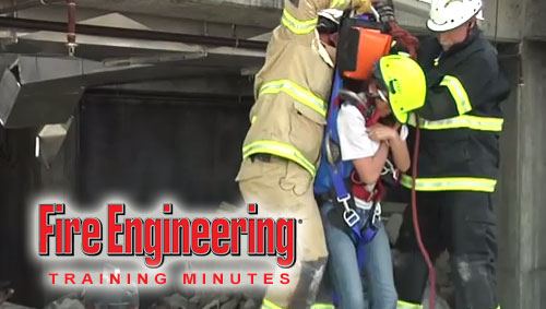 Training Minutes: Victim Removal from Concrete Collapse