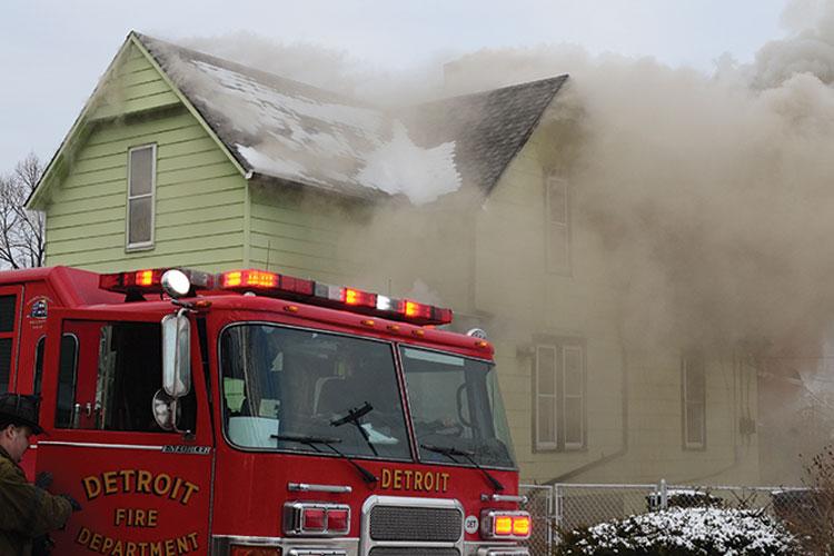 Detroit Private-Dwelling Fire